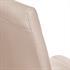2er Set, formschoene Freischwingerstuehle im Industriedesign, bequeme Polsterung, hochwertiger Kunstlederbezug, Farbe beige