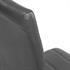 2er Set, formschoene Freischwingerstuehle im Industriedesign, bequeme Polsterung, hochwertiger Kunstlederbezug, Farbe grau