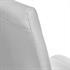 2er Set, formschoene Freischwingerstuehle im Industriedesign, bequeme Polsterung, hochwertiger Kunstlederbezug, Farbe weiss