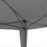 Estexo® Falt Klapp Pavillon 3x3m in der Farbe Dunkelgrau, wasserabweisend