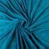 Flanell Microfaser Kuscheldecke 150 x 200 cm, besonders weiche Decke in der Farbe Aqua, Blau, Tagesdecke