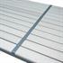 Estexo® WPC Gartentische in der Farbe Beige Grau, Groesse 190x90cm, mit pulverbeschichteten Stahlrahmen, Witterungs- und UV-bestaendig, Detailansicht von Tischplatte