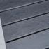 Estexo® WPC Gartentische in der Farbe Schwarz Grau, Groesse 190x90cm, mit pulverbeschichteten Stahlrahmen, Witterungs- und UV-bestaendig, Detailansicht von Tischplatte