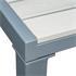 Estexo® WPC Gartentisch 90 x 90 cm, Farbe Beige Grau, Witterungs- und UV-bestaendig, besonders pflegeleicht