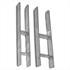 H-Anker 121 mm feuerverzinkt 80 cm lang