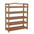 Schuhregal Holz 64 x 26 x 82 cm