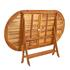Holz Balkonmöbel Set Klappstuhl mit Armlehne