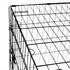 Hunde Transportbox Groesse XXL, sicher und stabil mit praktischem Tragegriff, zusammenklappbar, schneller Aufbau