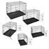 Hunde Transportboxen in verschiedenen Groessen waehlbar, sicher und stabil mit praktischem Tragegriff, zusammenklappbar, schneller Aufbau