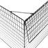 Estexo® Kaminschutzgitter in Schwarz, stabiles Absperrgitter fuer Kamine und Oefen, faltbar und sehr leicht zu montieren inklusive Befestigungsmaterial