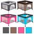 Estexo® Kinderreisebett und Laufstall klappbar inklusive Transporttasche, in vier Farben waehlbar Tuerkis Pink Braun und Grau