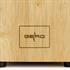 Messerblock von Gero fuer bis zu 11 Messer mit Gummifuessen fuer sicheren Stand, Detailansicht von Gero Logo