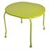 Tisch von 5 teiligem  Metall Garten Set in der Farbe gruen mit Gatenbank, die sich in einen Tisch umwandeln laesst