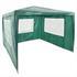 Estexo® Garten Pavillon Farbe Weiss, Blau und Gruen Groesse 300x300x240 cm