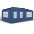 Estexo® Garten Pavillon Farbe Weiss, Blau und Gruen Groesse 300x600x240 cm