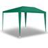 Estexo® Garten Pavillon Farbe Weiss, Blau und Gruen Groesse 300x300x240 cm ohne Seitenwaende, wasserdicht und witterungsbestaendig