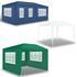Estexo® Garten Pavillon Farbe Weiss, Blau und Gruen verschiedene Groessen