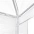 Estexo® Garten Pavillon Farbe Weiss Groesse 300x300x240 cm Detailansicht von Seitenwand