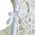 Polyrattan Hängekorbsessel weiß Geflecht