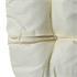 Polyrattan Hängekorbsessel weiß Sitzkissenbezug mit Reißverschluss