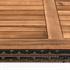 Polyrattan Sitzgruppe cube Würfelsystem braun Tisch mit Holzplatte