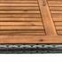 Exklusive Polyrattan Sitzgruppe Farbe Grau meliert, Sessel mit klappbarer Rückenlehne, Set platzsparend zusammenstellbar, witterungs- und UV-bestaendig