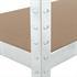 Steckregal Schwerlastregal 200x120x50 cm verzinkt, Belastbarkeit 875 kg