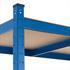 Steckregal Schwerlastregal 200x100x60 cm blau 875kg