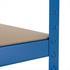 Steckregal Schwerlastregal 200x120x50 cm blau 875 kg