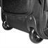 Trolley Rucksack mit Notebookfach, stabile Kunststoffrollen