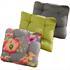 Weichstuhlkissen Farbe Anthrazit, Kiwi oder Blumendesign, 50% Baumwolle, 50% Polyester, mit 4-fach Steppung und formstabiler Fuellung