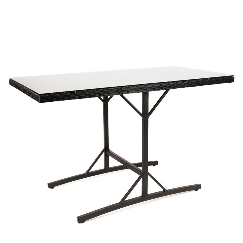 Bistro-Tisch-Set-Polyrattan-Schwarz-Braun-006.jpg