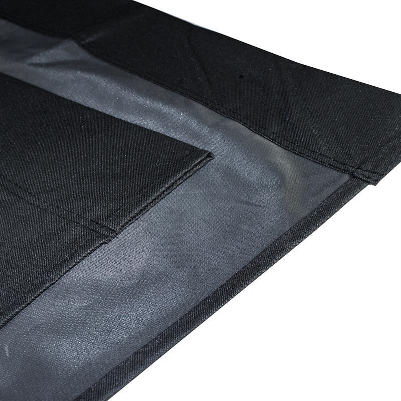 ersatz stoffbezug für estexo® doppelsonnenliege schwarz
