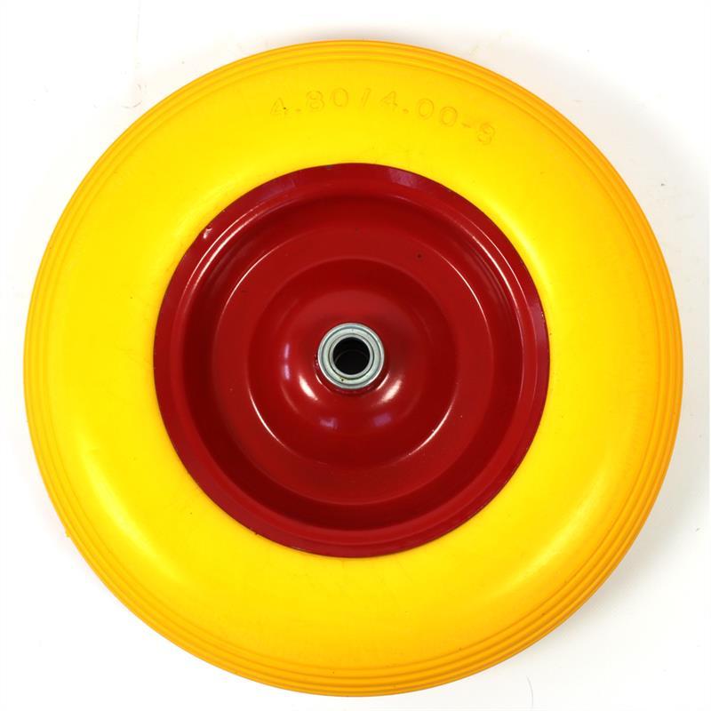 Erstaz-Schubkarren-Reifen-mit-Merallfelge-rot-gelb-Modell-89-Nabenlaenge-100mm-003.jpg