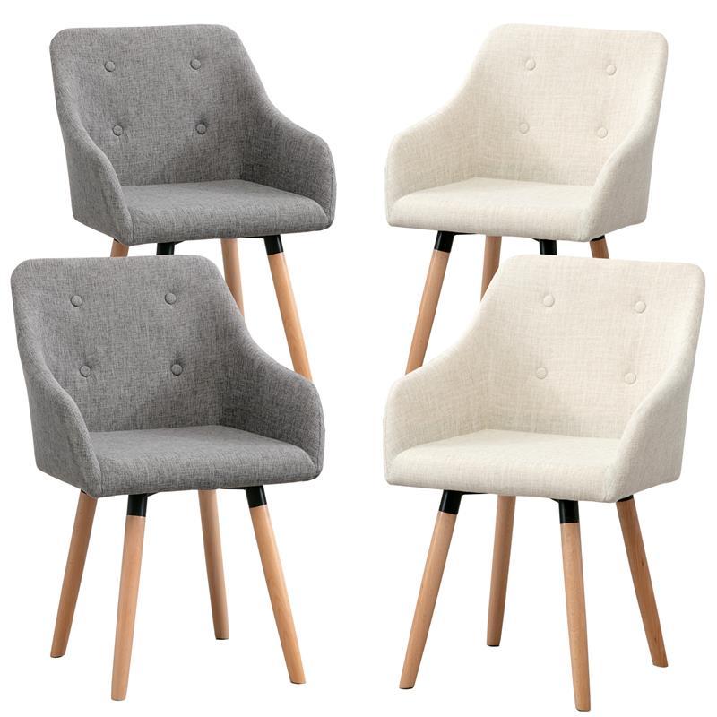 Esszimmerstuhl-Vintage-Design-Stuhl-Stoffbezug-Grau-Beige-Stuhlbeine-Holz-002.jpg