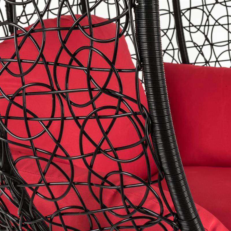Haengesessel-Polyrattan-mit-Gestell-schwarz-rot-004.jpg
