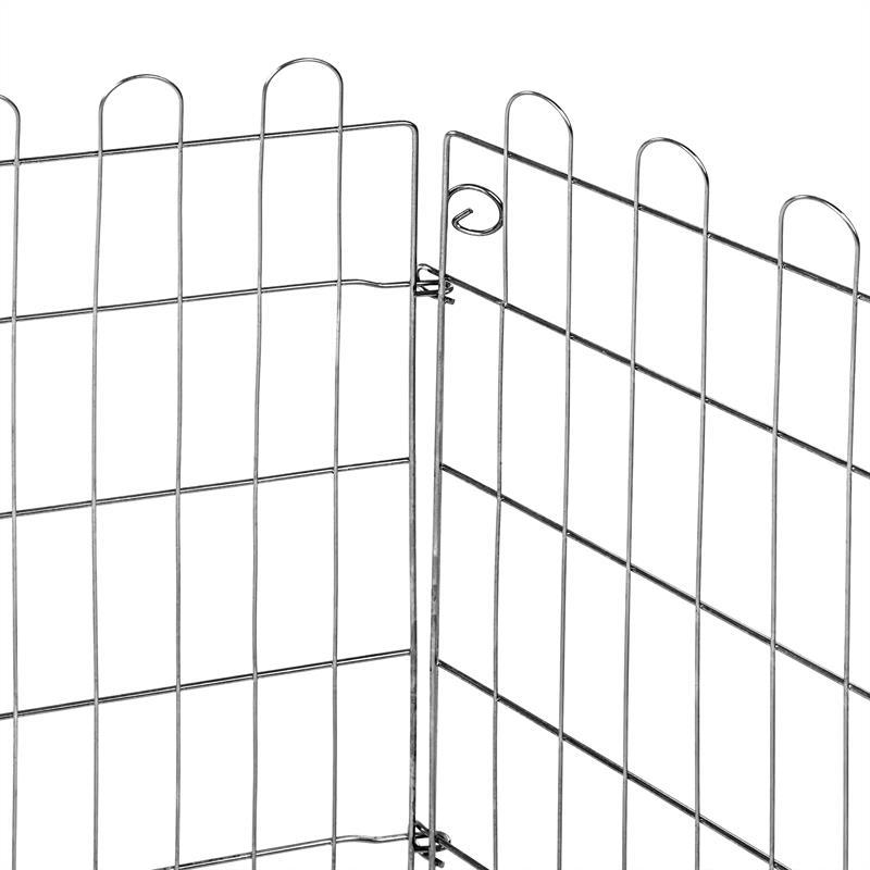 Hasen-Freilauf-Gehege-63cm-61cm-6-Gitter-inkl.-Schutz-Schattiernetz-003.jpg