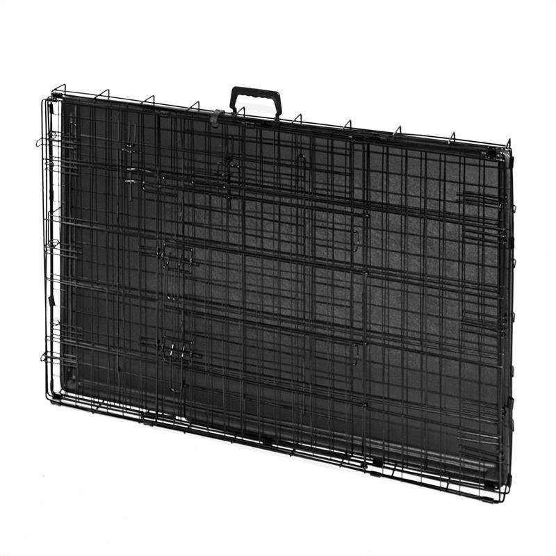 Hundetransportbox-mit-Bodenwanne-Groesse-XXL-Zweituerig-Faltbar-004.jpg