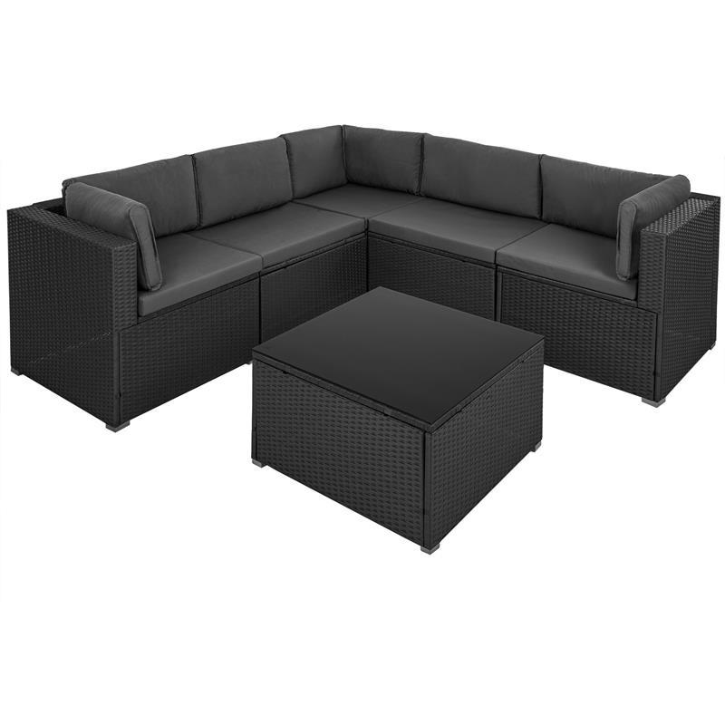 Luxus-Poly-Rattan-Lounge-Garnitur-6-teilig-Grau-Schwarz-003.jpg