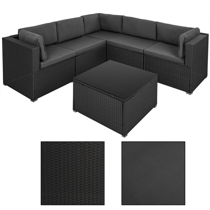 Luxus-Poly-Rattan-Lounge-Garnitur-6-teilig-Grau-Schwarz-009.jpg