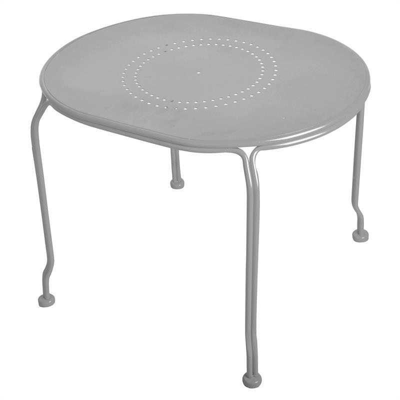 gartenm bel set gartenbank metall grau von esschert design. Black Bedroom Furniture Sets. Home Design Ideas