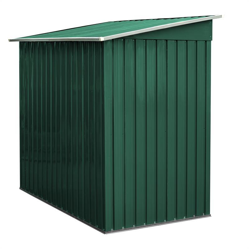 Metall-Gartenhaus-190x121x180cm-Gruen-RAL6005-002.jpg