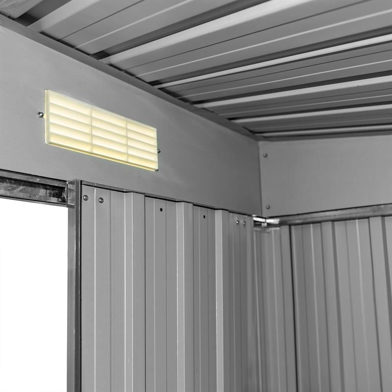 Metall-Gartenhaus-190x121x180cm-Gruen-RAL6005-003.jpg