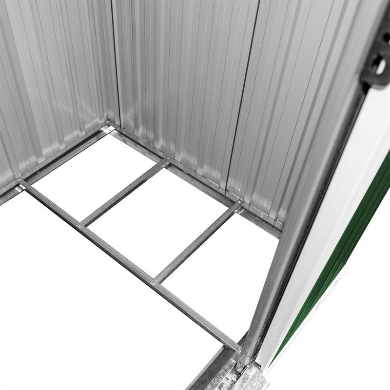 Metall-Gartenhaus-190x121x180cm-Gruen-RAL6005-004.jpg