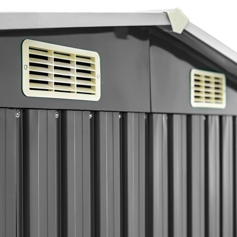 Metall-Gartenhaus-204x132x185cm-Anthrazit-RAL7016-003.jpg