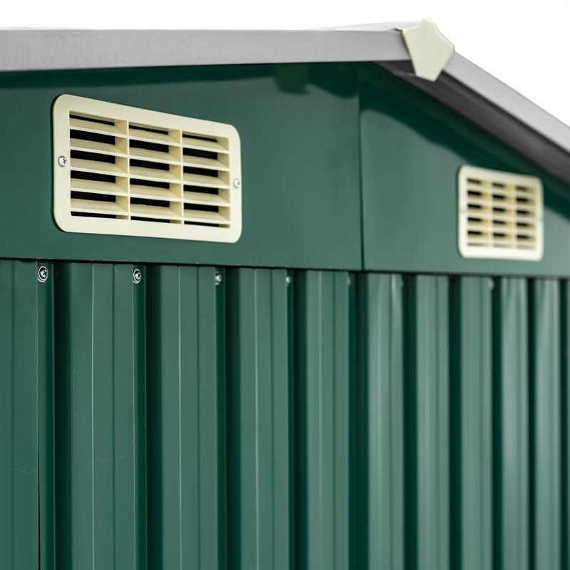 Metall-Gartenhaus-205x257x178cm-Gruen-RAL6005-003.jpg