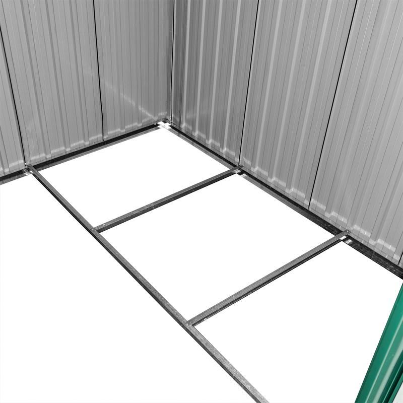 Metall-Gartenhaus-205x257x178cm-Gruen-RAL6005-005.jpg