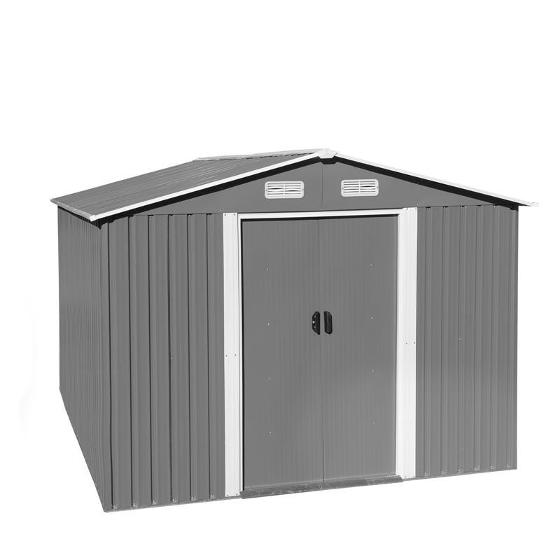 Metall-Gartenhaus-MGH-257x312x192cm-Grau-Weiss-001.jpg