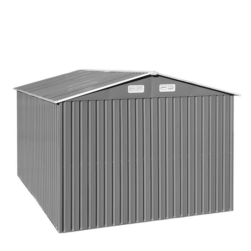Metall-Gartenhaus-MGH-257x312x192cm-Grau-Weiss-002.jpg