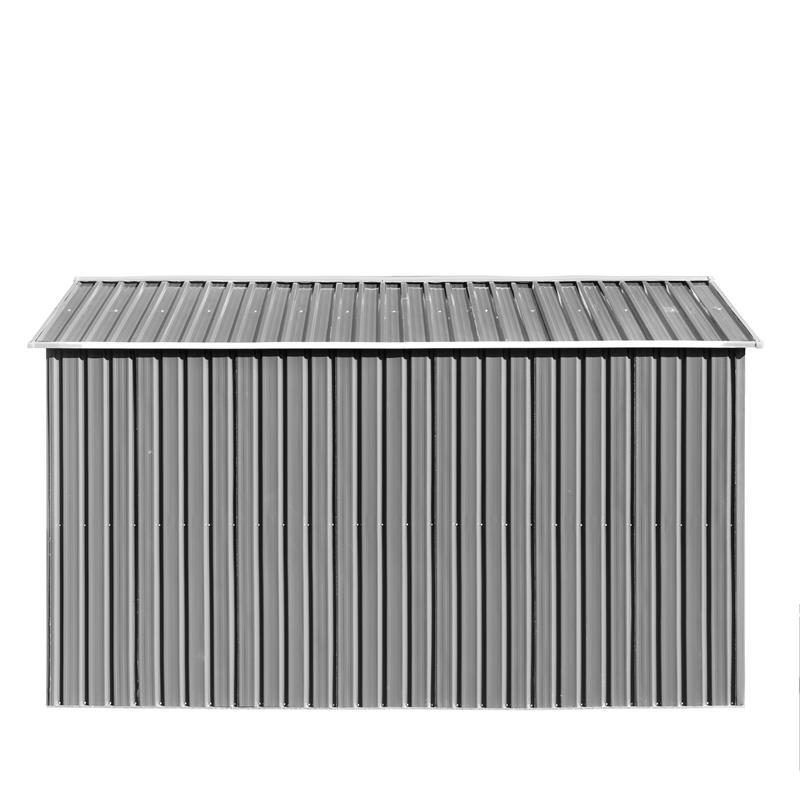 Metall-Gartenhaus-MGH-257x312x192cm-Grau-Weiss-010.jpg